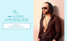 Enter for a chance to win a Yandel flyaway in Vevo's Winner Wonderland sweepstakes!