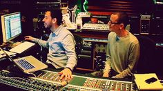 Mike and Chaz   Linkin Park. I love them. Miss you, Chazzy