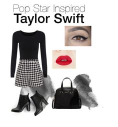 """Taylor Swift Inspired"" by zhinilee ❤ liked on Polyvore featuring Emma Cook, SWEET MANGO, Furla, women's clothing, women's fashion, women, female, woman, misses and juniors"