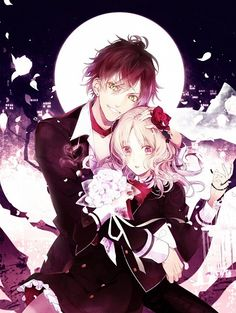Tags: Anime, Official Art, Satoi, Diabolik Lovers ~Haunted dark bridal~, Sakamaki Ayato
