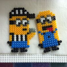 Minions hama beads by xueyinho