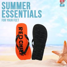 Be beach ready with these stylish Red Chief flip-flops this summer! https://bit.ly/2HFdKeg