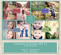 ATP. Color Actions SET 11 by AllThingsPrecious.deviantart.com on @DeviantArt