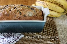 Today is Banana Lovers Day! Let me introduce you to Heartland Gourmet's Gluten Free Banana Bread Mix! This mix is a breeze to make, just add the mix, oil, water and two eggs. Gluten Free Banana Bread, Bread Mix, Chocolate Chip Banana Bread, Allergy Free Recipes, Dessert Bread, Gluten Free Desserts, Fall Recipes, Food Network Recipes, Breakfast Recipes