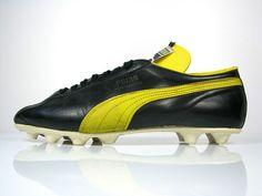 1d7abfdc6 vintage PUMA PELE SANTOS Football Boots UK 11 5 rare 60s 70s made in  Austria OG