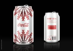 Coca-Cola Christmas edition by Dusan Fusion Tucakovic #packaging #design