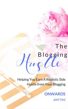 Earn & Blog. The Blogging Hustle eBooks and Workbooks. Part 2 Social Media now available