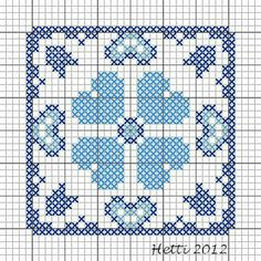 Creative Workshops from Hetti: SAL Delfts Blauwe Tegels,Deel 2 - SAL Delft Blue Tiles, Part 2.