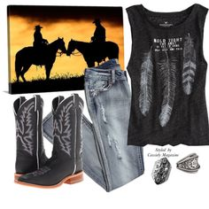 Stay wild and free styled by Cassidy Magazine. Living life the cowgirl way