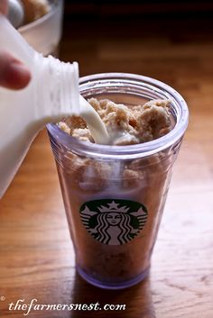 35 Cent Homemade Frappuccino - I'm thinking I could make ice cream out of this!