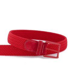 Cinturón rojo para hombre.  Productos - itmen®