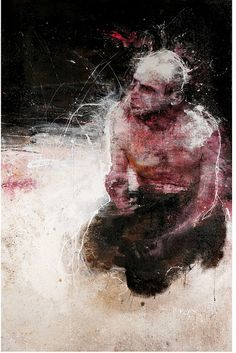 Christophe Hohler, L'Homme accroupi by galerierempart, via Flickr
