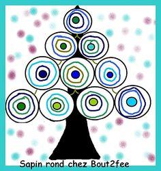 arbre, cercles concèntrics