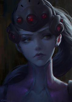 Widowmker Portrait - https://chome.artstation.com/