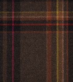 To DIE for fabric. Exaggerated Plaid by Paul Smith.