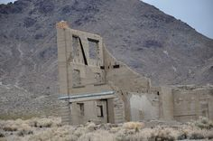 JD's Scenic Southwestern Travel Destination Blog: Rhyolite Ghost Town, Nevada!