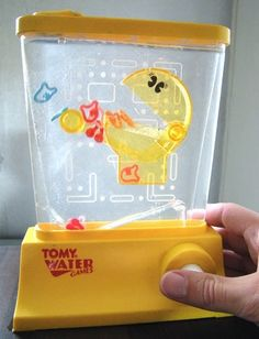 Tomy Waterful Games from my childhood. I am having these in my bathroom. #tomy #1980s #nostalgia