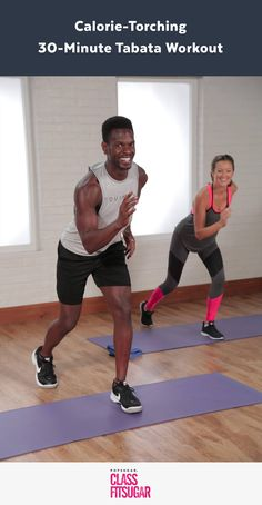 This calorie-torching cardio and sculpting workout is one of our hardest ever, but Equinox Tabata instructor Raneir Pollard's amazing energy will inspire you