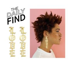"""""""Daily Find: Melody Ehsani Earrings"""" by polyvore-editorial ❤ liked on Polyvore featuring DailyFind"""