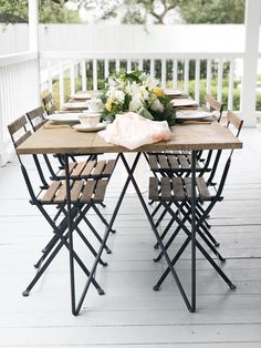 Modern Soirée Tables • Table Rentals for your wedding or event!