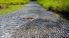 Foot Reflexology Path at Singapore Botanic Gardens by alantankenghoe, via Flickr