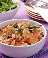 Weight Watchers - Slow Cooker Chicken Paprikash - 4 Points Plus