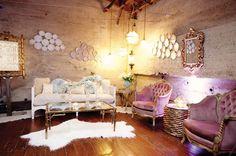 glamorous interior design - living room