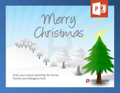 Christmas Template Free Mesmerizing Free Christmas Powerpoint Template Take A Look At This Video If You .