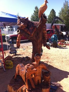 Jordan Wood Carvings - Award winning sculptures