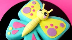 Kawaii Butterfly Cake! How to make butterfly cake - Cake Style 2017 #cake #birthday #chocolate #food #dessert #yummy #love #baking #foodporn #sweet #recipe