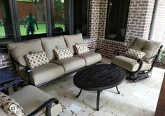 The Rialto patio furniture collection from Pride Family Brands