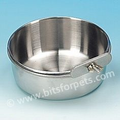 £5.95 Stainless Steel Coop Cup with Bolt Clamp 5