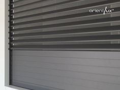 orientlux, the adjustable roller shutter by Luxe Perfil