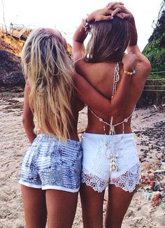 beachy shorts