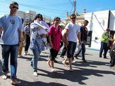 Jornal Agora | Milhares de pessoas acompanham a Romaria de Nossa ...