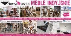 meble, gres, rowery Indie