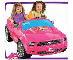 Power Wheels 12V Barbie Ford Mustang