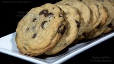 Classic Chocolate Chip Cookies Recipe, Chip Cookie Recipe, Chocolate Cookies, Cookie Recipes, Best Food Ever, Recipe Please, Cake Cookies, My Recipes, Food Videos