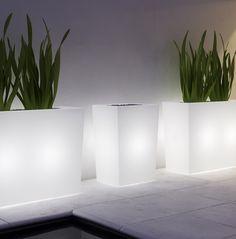 Fiori Cassa Alta Indoor or Outdoor Light Up Pot