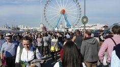 Oktoberfest, too crowded, no good mood at all..