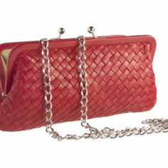 Italian Woven Leather Clutch Bag at the Shopping Mall, £195.00   Discounted Price: £175.50 (GBP)