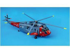 The Bravo Delta Models Sea King Helicopter Scale Model Aircraft in 1/42 scale is another example from this superb wooden aircraft model collection.
