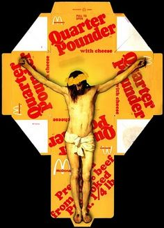 McCrucifix... with Cheese