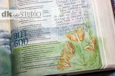 Mama Dini's Stamperia: Bible Journaling - getting started