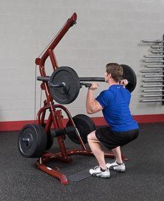 Amazon.com: Solid Body Gym apalancamiento GLGS100 Classic Series esquina con cables de grado de los aviones y de nylon: Deportes y tiempo libre