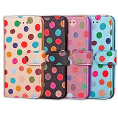 Features: -Case Compatible for iPhone 7 & 7 Plus, Please choose the correct Phone model you wanted. -Perfectly matches with your phone shape and make your phone personalized and fashionable -Ma… Old Phone, Iphone 7 Covers, Iphone 4, Iphone 7 Plus, Iphone Cases, Pu Leather, Leather Wallet, Slim Wallet, Colorful