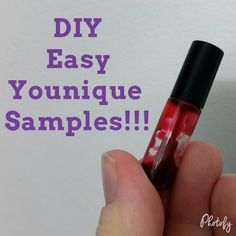 How to make Younique Samples!! - YouTube