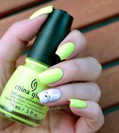ZigiZtyle: China Glaze Grass Is Lime Greener