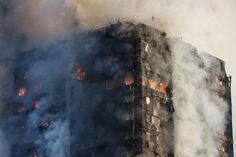 Uno spaventoso incendio ha quasi completamente distrutto la Grenfell Tower, grattacielo di 24 piani a North Kensington, non lontano da Notting Hill nella parte
