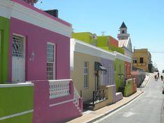 Colourful Bo-Kaap, Cape Town